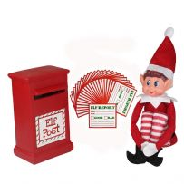 Elves on Shelves with Postbox and Report Cards Xmas Christmas Kids Childrens Naughty Nice Range
